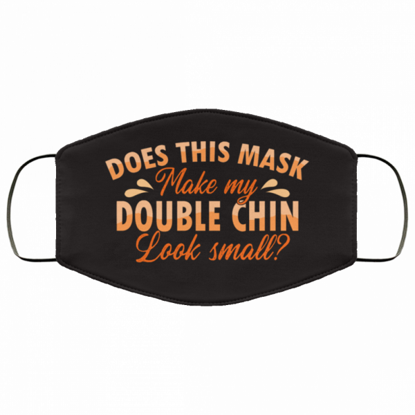 double chin look small face mask