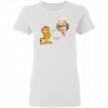 Diana And Garfield I Hate Mondays But I Could Never Hate Her Shirt