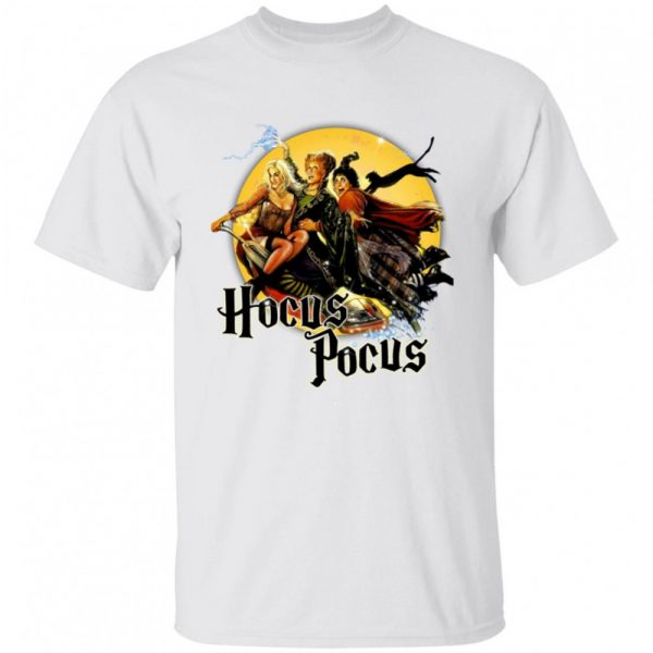 Hocus Pocus Sanderson Sisters Witches Wizards Horror Movie Character Halloween shirt