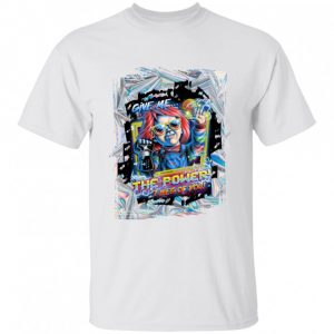 Child's Play Electrical Chucky Give Me The Power I Peg Of You Halloween shirt